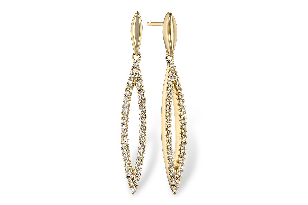 Diamond Earrings by Allison Kaufman