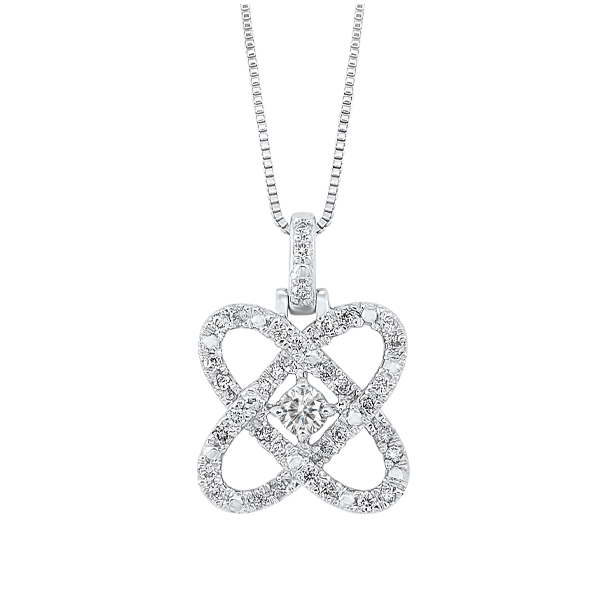 Diamond Pendant by Gems One
